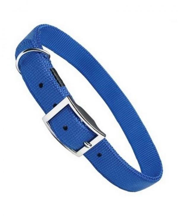 Ogrlica za pse najlon 16*350 plava