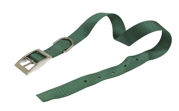 Ogrlica za pse najlon 16*350 zel