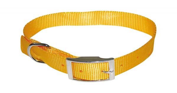 Ogrlica za pse najlon 16*350 zuta