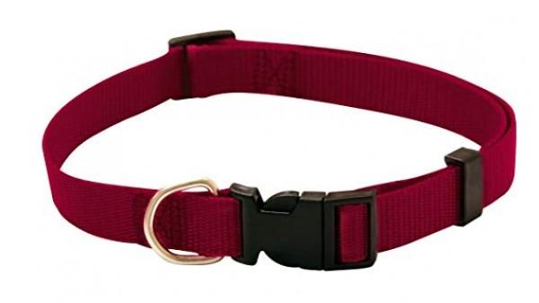 Ogrlica za pse najlon 40/68*19 crvena