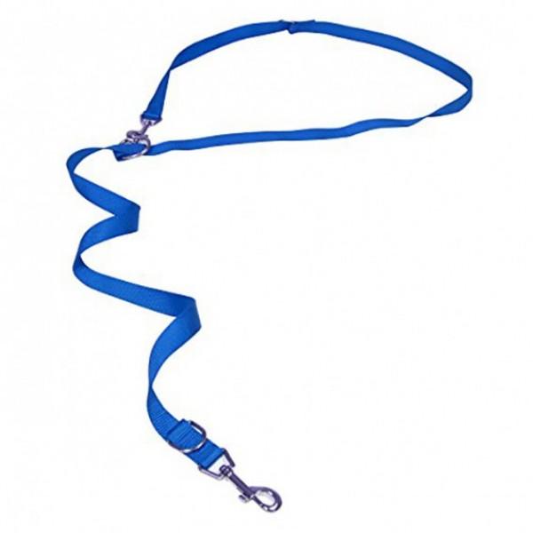 Povodac za pse najlon 19*120 plavi