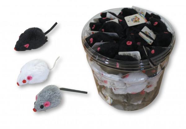 Igračka za mace plišani miš 5cm