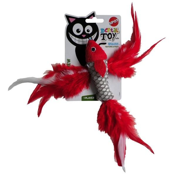 Igračka za mačke riba, zvakalica sa mačjom travom