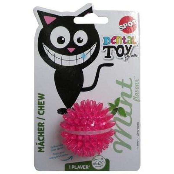 Igračka za mačke lopta sa iglama 4,5cm ukus mente