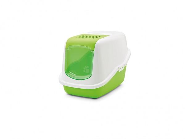 SAVIC Toalet sa vratancima Nestor zeleno-beli 56x39x38.5cm