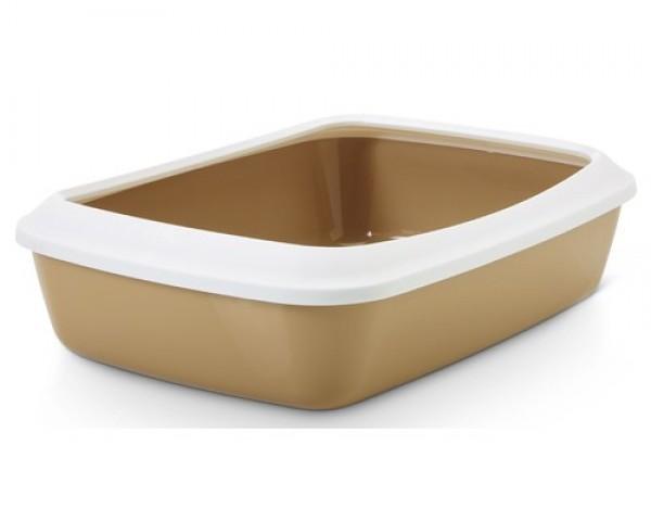 SAVIC Toalet za mace sa ramom Iriz 50cm retro braon