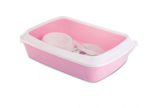 SAVIC Toalet za mace Iriz starter kit roze