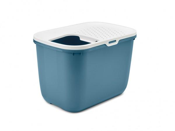 SAVIC Toalet za mace Hop In belo-plavi