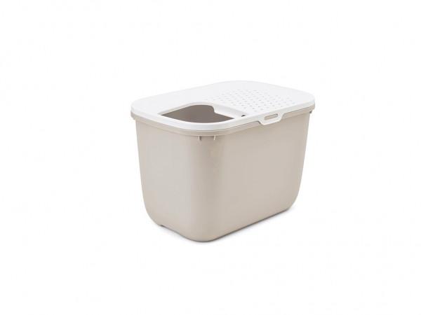 SAVIC Toalet za mace Hop In belo-bez