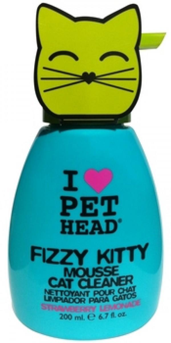 PET HEAD Fizzy Kitty Mousse 190ml