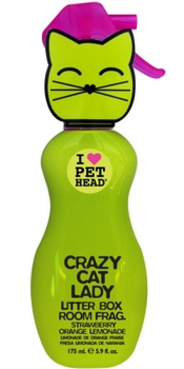 PET HEAD Crazy Cat Lady Spray 175ml