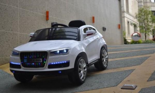 Džip za decu (Audi Q7) sa mekim EVA gumama i PU sedištem sa daljinskim 216 beli