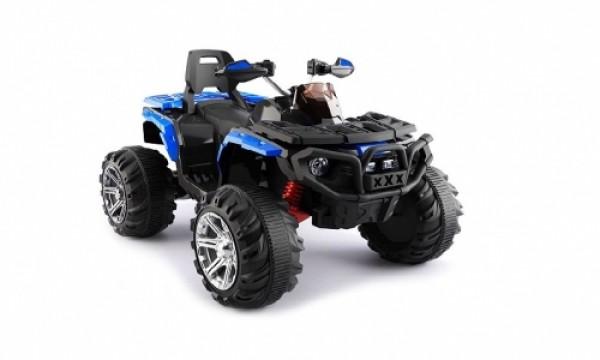 Bagi (quad) za decu na akumulator 110 plavi