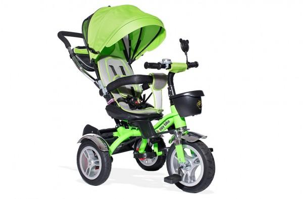 Tricikl-guralica Playtime Lux 408 zeleni sa rotirajućim sedištem