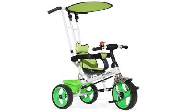 Tricikl-guralica Playtime Basic 409 zeleni