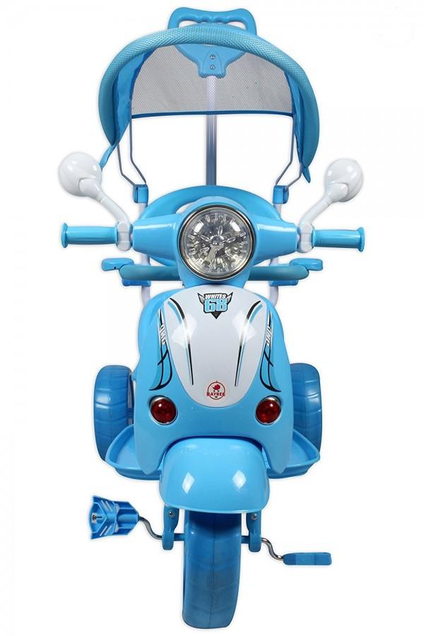 Tricikl-guralica Vespa 410 plavi