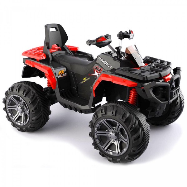 Bagi (quad) za decu na akumulator 110 crveni