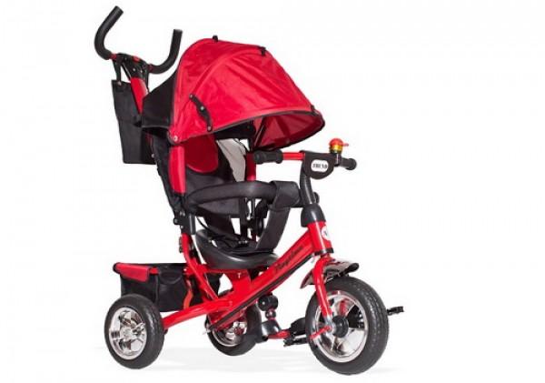 Tricikl-guralica Playtime Trend 407 crveni sa podesivim nagibom naslona