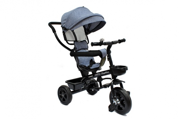 Tricikl-guralica Playtime Little 415 sivi