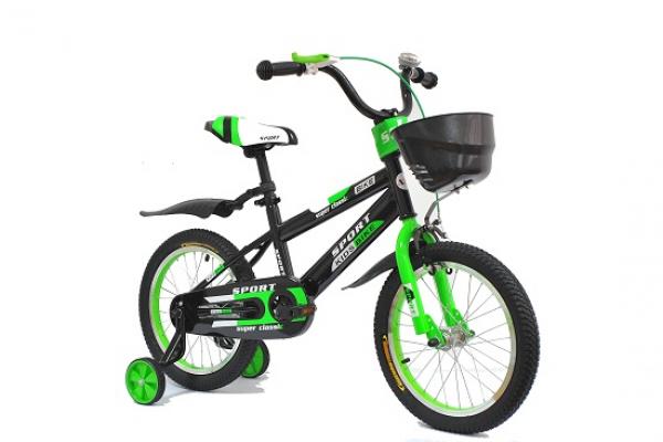 Bicikla za decu 701 Sport 12'' zeleno-crna