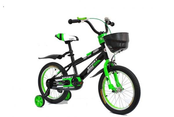 Bicikla za decu 702 Sport 16'' zeleno-crna