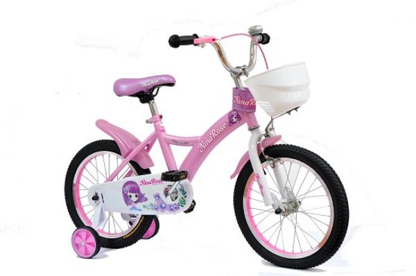 Bicikla za decu 704 Nina Rose 16'' pink