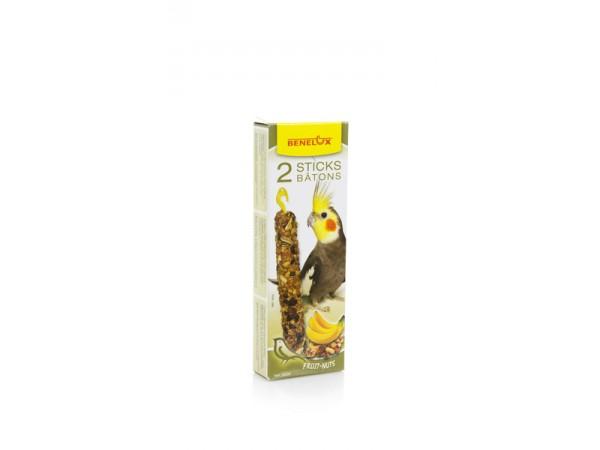 Štapići za nimfe sa kikirikijem i bananom 110g
