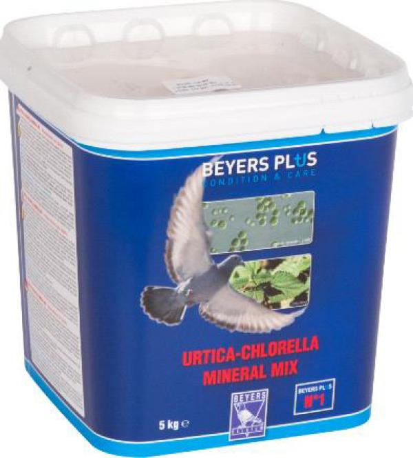 Beyers za golubove 1 urtica chlorella mineralmix 5kg