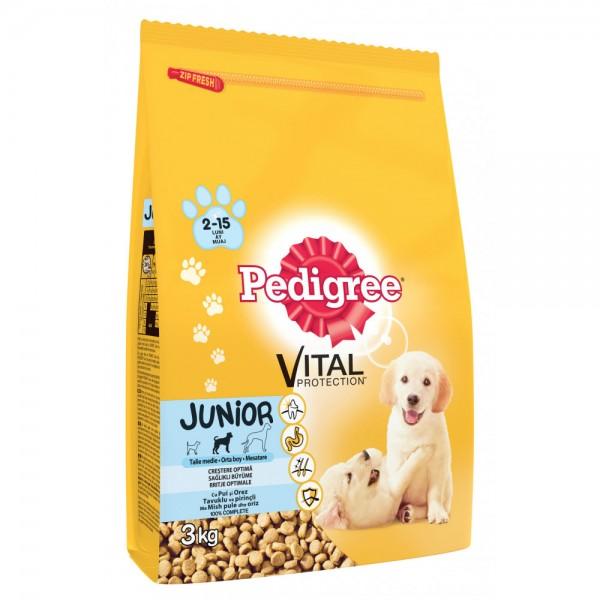 Pedigree Suva hrana Junior Piletina (2-15 meseci) 500G
