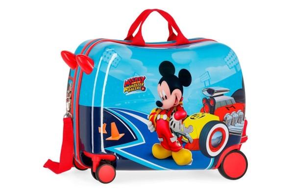 LETS ROLL MICKEY ABS kofer za decu sa 4 točkića (2 dupla točkića)  Kat.br.45.698.61