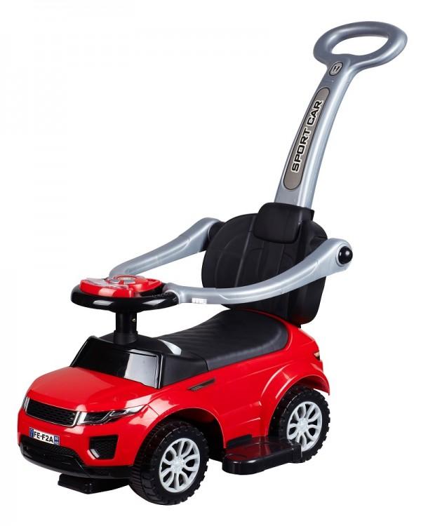 Dečija guralica ''Auto'' sa osloncem za noge, Model 453 Crvena