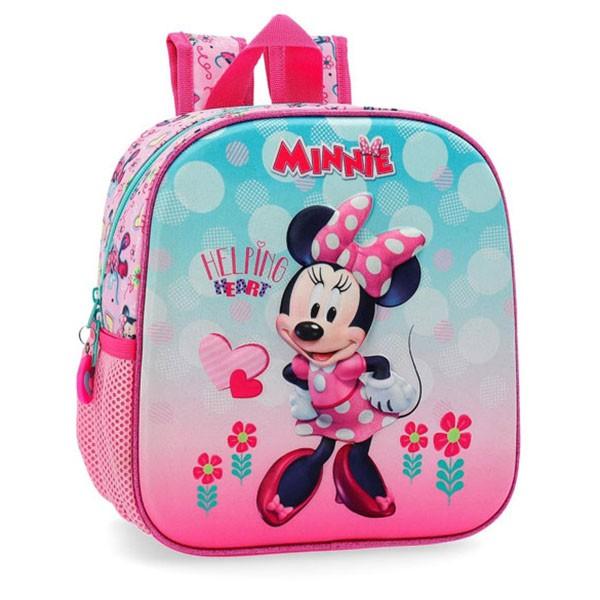 Dečiji školski Disney ranac 25cm '' Minnie Heart '' kat.br. 23.720.61