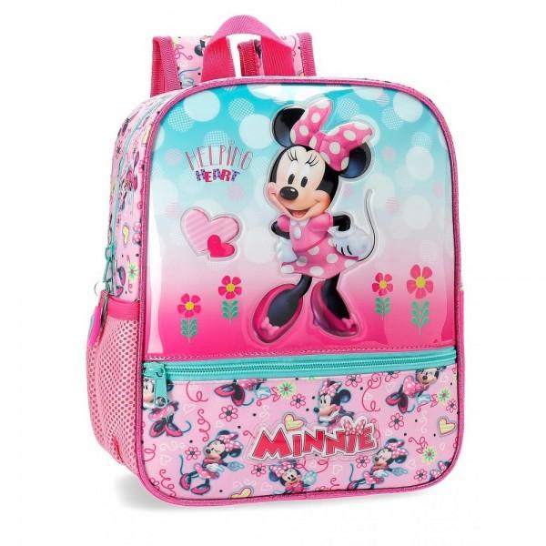 Dečiji školski Disney ranac 28cm '' Minnie Heart '' kat.br. 23.721.61
