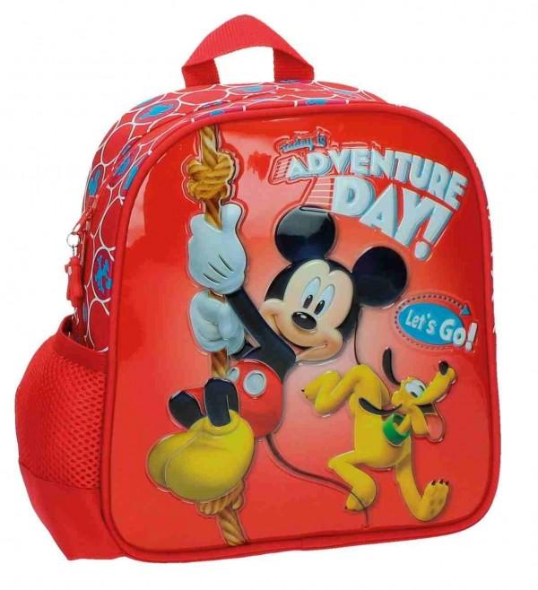 Dečiji školski Disney ranac 28cm '' Mickey & Pluton '' kat.br. 26.821.A1