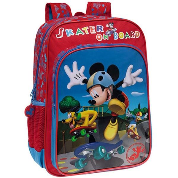 Dečiji školski Disney ranac 40cm ''Mickey Skater'' kat.br.40.123.51
