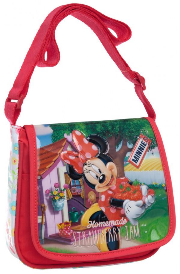 Disney dečija torba na rame sa preklopom ''Minnie strawberry jam'' kat.br.23.954.51