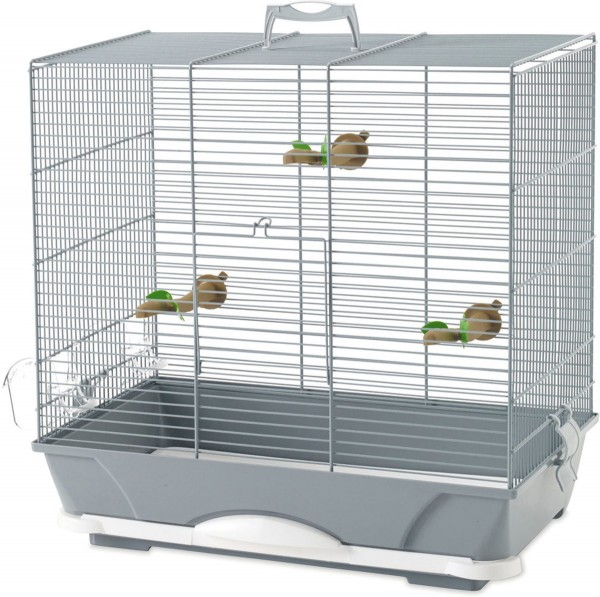 Savic kavez za ptice ''Primo'' 40, sivi