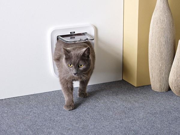 Vratanca za mačke ''Classic'' bela