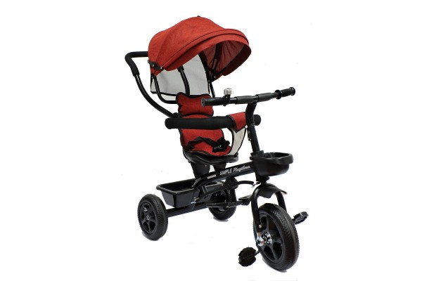 Tricikl-guralica  za decu Playtime Little Model 415, bordo