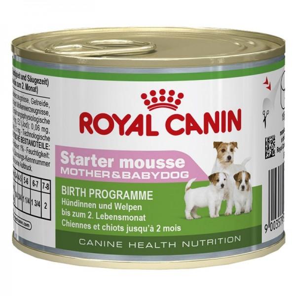 ROYAL CANIN Vlažna hrana  u konzervi za štence Mini Starter Mousse 195g