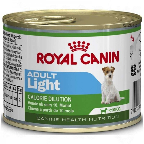 ROYAL CANIN Vlažna hrana  u konzervi za odrasle pse Mini Adult Light 195g