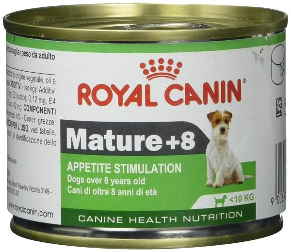 ROYAL CANIN Vlažna hrana  u konzervi za odrasle pse preko 8god.starosti Mini Mature 195g