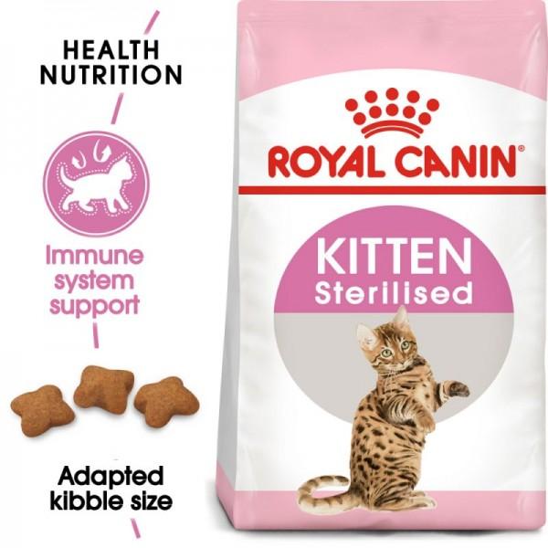 Royal Canin Suva hrana za sterilisane mačiće Kitten Sterilised - 400gr.