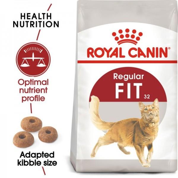 Royal Canin Suva hrana za odrasle mačke Fit 32 - 15kg.