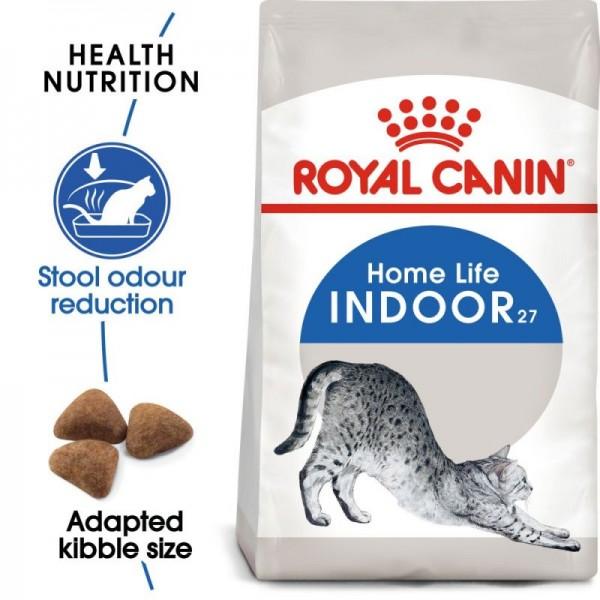 Royal Canin Suva hrana za odrasle mačke  Indoor 27 - 400gr.