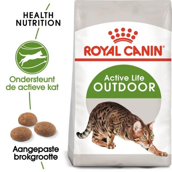 Royal Canin Suva hrana za odrasle mačke Outdoor 30 - 400gr.