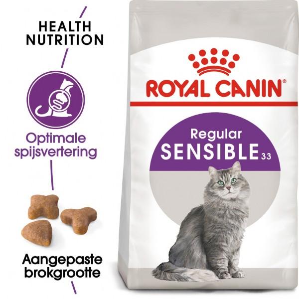 Royal Canin Suva hrana za odrasle mačke Sensible 33 - 15kg.