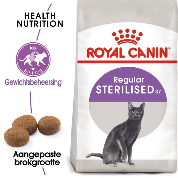 Royal Canin Suva hrana za odrasle mačke Sterilised 37 - 400gr.