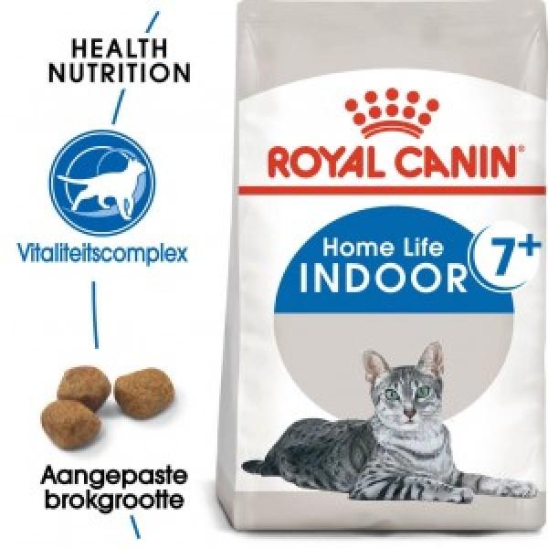 Royal Canin Suva hrana za odrasle mačke  Indoor +7 - 400gr.