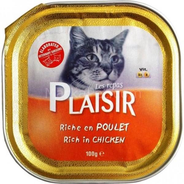 Plaisir Vlažna hrana pašteta Kitten piletina 100g